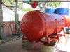 Tanque cisterna para transporte de agua potable, capacidad 10.000 lts