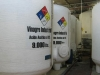 Tanques verticales industriales para almacenamiento de acido acético (vinagre)
